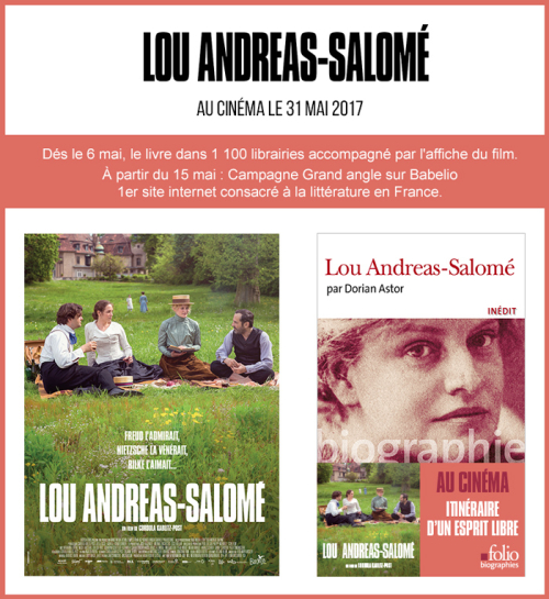 Editions Folio - Biographie LOU ANDREAS-SALOME