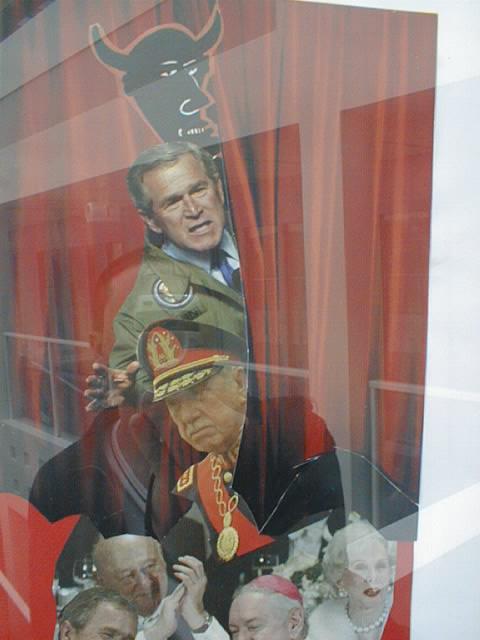 Pinochet dans la mémoire de Bush